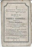 BP VErhoosele Dominica (Zaffelare 1825 - 1865) - Collections
