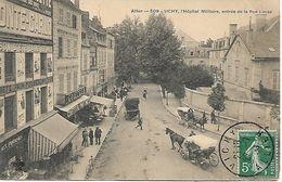 03 VICHY Hôpital Militaire Entrée De La Rue Lucas - Vichy