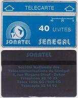 318/ Senegal; P2. Logo; CP 905A - Sénégal