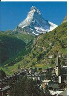 ZERMATT     ( SUISSE )    MATTERHORN   4478 M. MONT-CERVIN - VS Valais