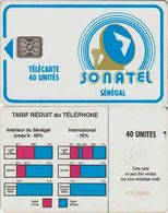 319/ Senegal; P3. Logo, 40 Ut., SC4, C31141011 - Sénégal