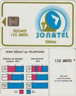 320/ Senegal; P4. Logo, 120 Ut., SC5, 34684 - Sénégal