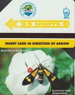 324/ Sierra Leone; P10. Euchromia Lethe - Sierra Leone