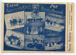 Limoges Le Toréador Manzano Au Cirque D'hiver - Limoges