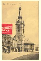 A1486[Postkaart] Chimay / La Place (Nels) [café Hond Chien L'église De Kerk Van Grand' Exprès Spoedbestelling] - Chimay