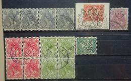 NEDERLAND  1899   Nr. 50 / 51 / 55 / 57-60 En 62   Zie Verder   Gestempeld      NVPH 2017 - Oblitérés