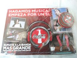 Argentina Argentine Coca Cola Intractive Music Postale Postcard  #14 - Cartoline