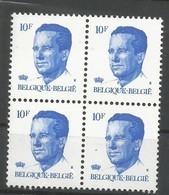 OCB 2069 ** Postfris Zonder Scharnier  In Blok Van 4 - 1981-1990 Velghe
