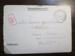 WWII German POW Camp Card Kriegsgefangenenpost Oflag XXI C Schildberg, Poland - Guerre 1939-45