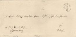 Altbrief Von Leert Nach Aurich Fingerhutstempel Leer Um 1830 - Hannover