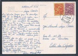 Rara Obliteração De 'Besteiras' Ferreira Do Zêzere De 1968. Postal De Ferreira Do Zêzere Da Tipografia Ferreirense. . - 1910-... République