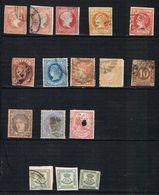 D3 - Espagne - Lot De Classiques à Voir - 1872-73 Reino: Amadeo I