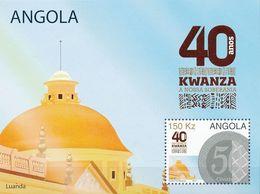 Q47- Angola 2017 The 40th Anniversary Of The Kwanza Bank. - Angola
