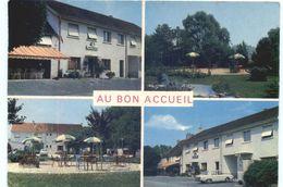 CARTE POSTALE DE CHEVIGNY SAINT-SAUVEUR - AU BON ACCUEIL CAFE HOTEL RESTAURANT MADAME MARC - Sonstige Gemeinden
