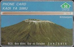 365/ Tanzania; P1. Mount Kilimanjaro, 50 Ut., CP 430A - Tanzania