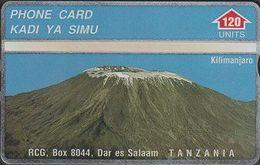 366/ Tanzania; P2. Mount Kilimanjaro, 120 Ut., CP 410A - Tanzania