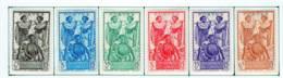 Cote Des Somalis 1938 Guerriers  YT 155-160 - Französich-Somaliküste (1894-1967)