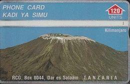 367/ Tanzania; P2. Mount Kilimanjaro, 120 Ut., CP 410A - Tanzania