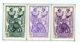 Cote Des Somalis 1939 Guerriers YT 179-181 - Französich-Somaliküste (1894-1967)