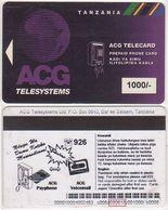 368/ Tanzania; P14. AGC Logo, 1000/-, Made 18.06.98 - Tanzania