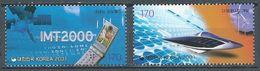 Corée Du Sud YT N°1966-1968 Millénaire Neuf ** - Corea Del Sud