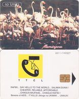 378/ Tanzania; P11. Flamingoes, Reverse B, 1st Issue - Tanzania