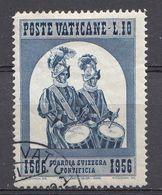 Vatikaan 1956  Mi.nr. 252 Schweizergarde   OBLITÉRÉS-USED-GEBRUIKT - Vatican