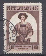 Vatikaan 1956  Mi.nr. 253  Schweizergarde   OBLITÉRÉS-USED-GEBRUIKT - Vatican