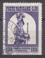 Vatikaan 1956  Mi.nr. 254  Schweizergarde   OBLITÉRÉS-USED-GEBRUIKT - Vatican