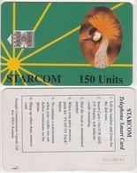 386/ Uganda; Starcom, P2. Gru - Green, 150 Ut., CN C52148744 - Ouganda