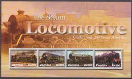 2005Zambia1562-1565KLLocomotives8,50 € - Treni