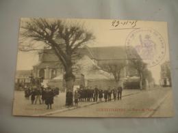 Gennevilliers Camp Retranche De Paris  Batterie R A T Cachet Franchise Postale Guerre 14.18 - Postmark Collection (Covers)