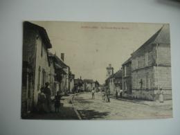 Cpa 10 Morvilliers Grande Rue Du Moulin - Autres Communes