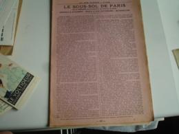 Magasin Au Bon Marche Maison Boucicaut Les  Sous Sol De Paris  Carrier Metro Catacombes - Pubblicitari