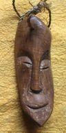 Lega - Originele Talisman In Been Mogelijk Ivoor - Amulette Originale En Os Probablement En Ivoire - Art Africain