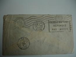 1937 Paris P P Avion Sur Lettre Du Togo 2 Timbre 2 F Et 50 C  Lome - Togo (1914-1960)