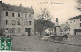 03 , GANNAT , La Gendarmerie - Autres Communes