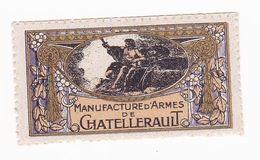 Vignette Militaire Delandre - Manufacture D'armes De Chatellerault - Militario