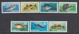 Albania 1967- Fishes, Mi-Nr. 1131/37, MNH** - Albanien