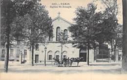 75 - PARIS - Eglise SAINT JOSEPH - CPA Précurseur - Seine - Kirchen