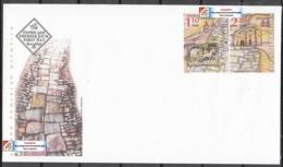 Europa CEPT 2020 BULGARIA Ancient Postal Routes (Pre Order!) - Fine Set FDC - Nuovi