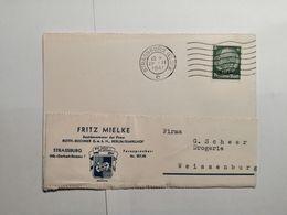 Deutsches Reich  Postkarte 1941 Elsass - Allemagne