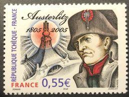 Variété Austerlitz N°3782 (Maury N°3769b) Sans Bande Phosphorescente  - RARE - Errors & Oddities