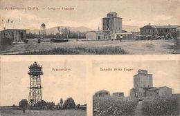 WITTENHEIM (Haut--Rhin)  Puit MINE POTASSE  Schacht Theodor-Prinz Eugen-Wasserturm MINES-INDUSTRIE - Wittenheim