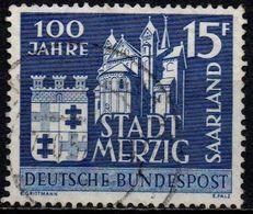 1957 Saarland N. Mt. 401 100 Jahre Merzig - Zone Française