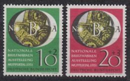 BRD 1951 - Michel 141-142 Sauber Postfrisch MNH** - Neufs