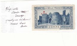 DOMME La Belle France Croix Rouge - Commemorative Labels