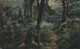 ANGRIFF GHURKAS BEU HOOGE YPERN Feldpost 1914/15 WWI WWICOLLECTION - Ieper