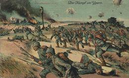 FELDPOST  DER KAMPF UM YPERN   1914/15 WWI WWICOLLECTION - Ieper