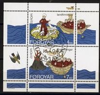 Féroé - Färöer - Faroe - Danemark Bloc Feuillet 1994 Y&T N°BF7 - Michel N°B7 (o) - EUROPA - Isole Faroer